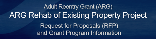 ARG Rehab of Existing Property Project Grant Information